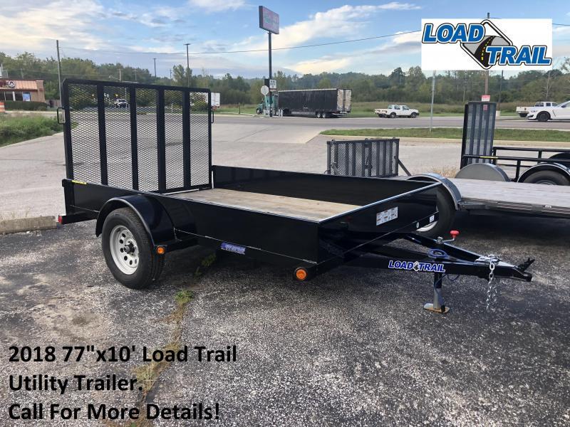 "2018 77""x10' Load Trail Utility Trailer. 70675"