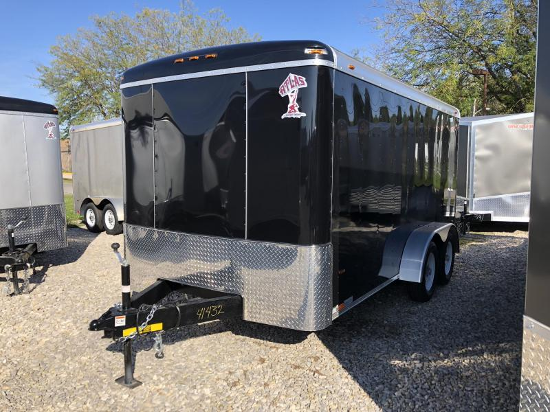 2019 7x14 7K Atlas Enclosed Trailer. 41432