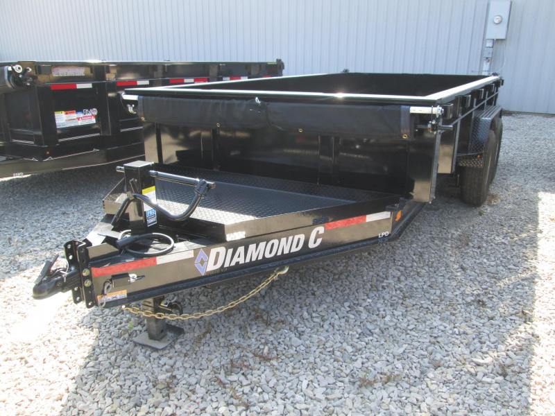 2019 14x82 14.9K Diamond C Dump Trailer. 17504