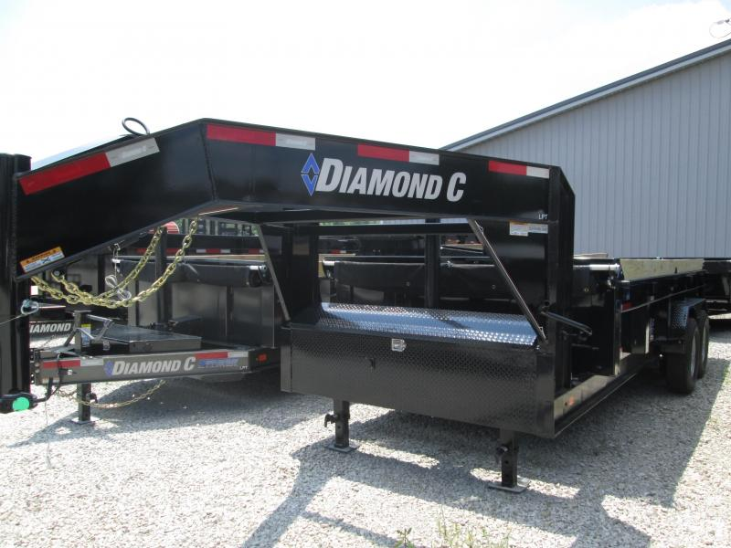 2019 16x82 14.9K Diamond C GN Dump Trailer. 14570