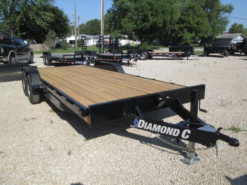 2019 18+2x82 10K Diamond C Car Trailer. 18623