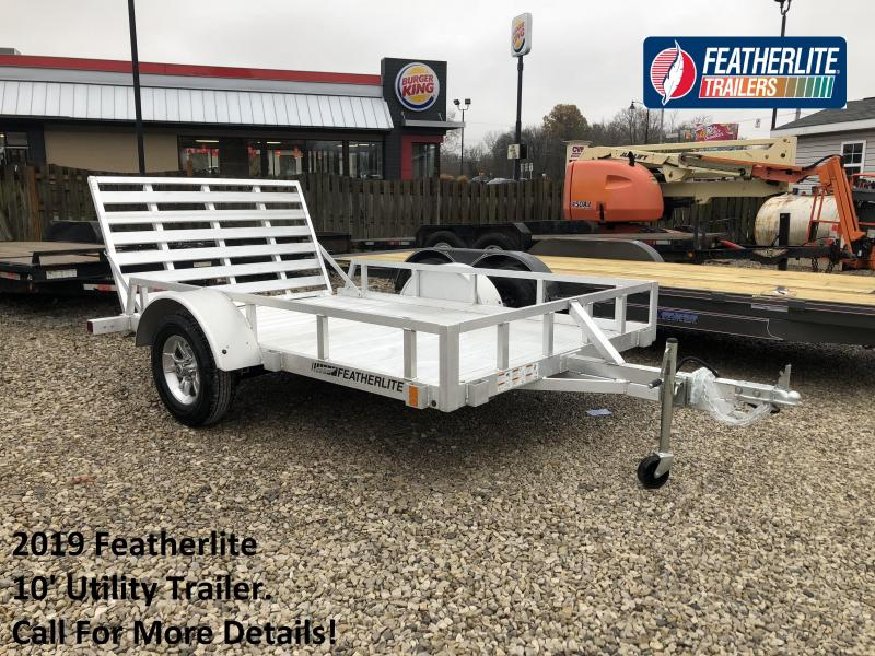 2019 10' Featherlite Utility Trailer. 150619