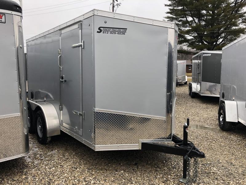 2019 6x12 7K Discovery Enclosed Trailer. 4206
