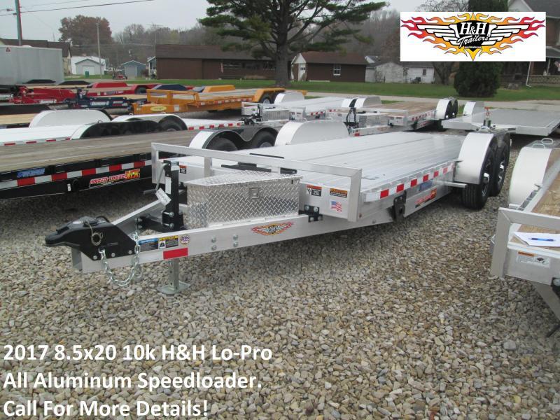 2017 8.5x20 10k H&H Lo-Pro All Aluminum Speedloader. 76424