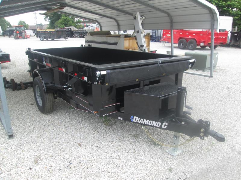 2019 Diamond C Trailers EDS152 Dump Trailer