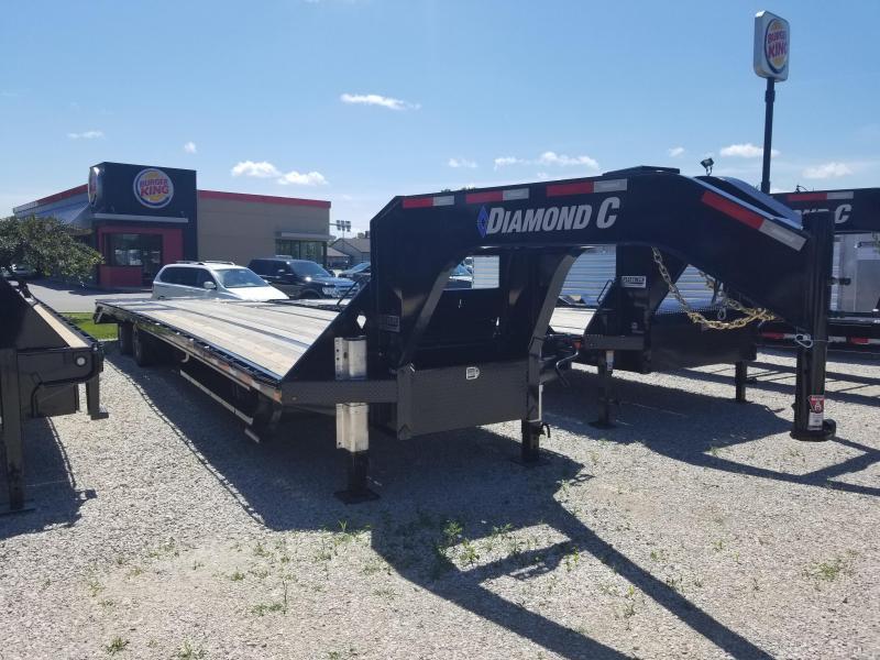 2019 Diamond C FMAX 212 Engineered Beam Equipment Trailer.
