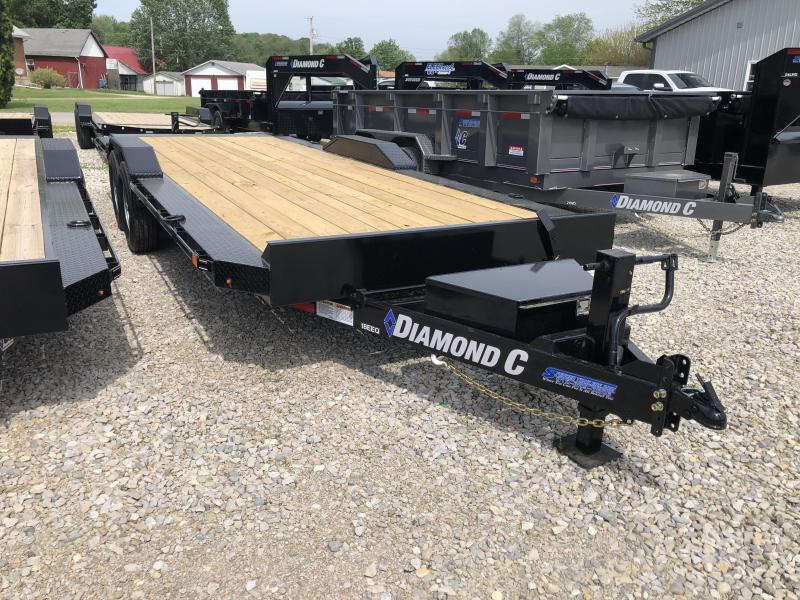 "2018 22'x102"" 14.9k Diamond C Equipment Trailer. 00894"
