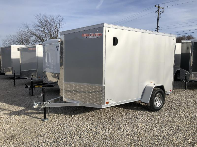 2018 6' x 10' Aluminum Discovery Trailer Enclosed. 2110