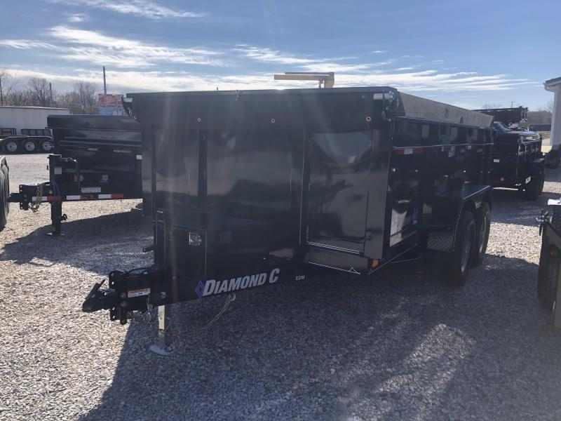 2019 12x82 10K Diamond C Dump Trailer. 11264