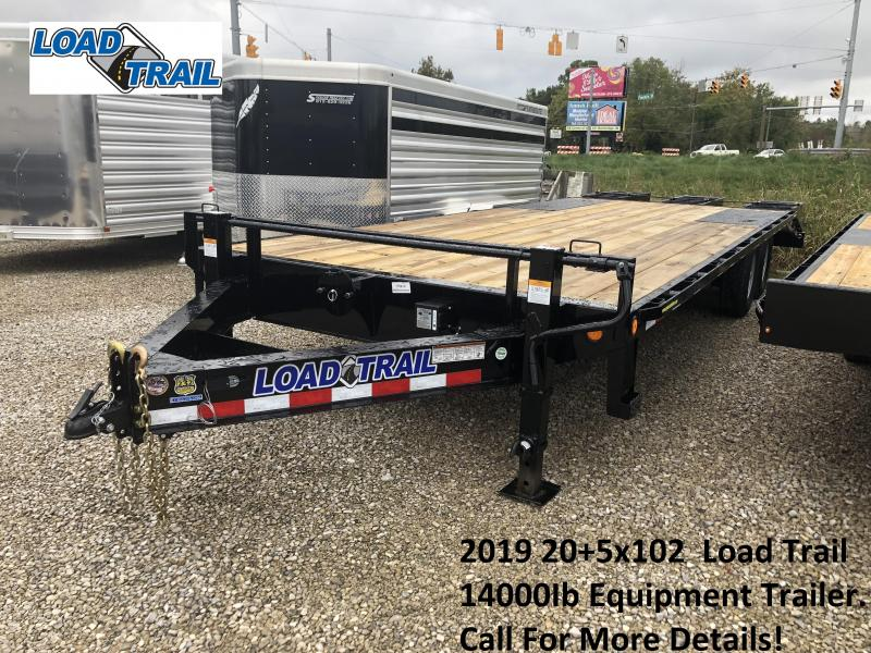 2019 20+5x102 14K Load Trail Equipment Trailer. 75410