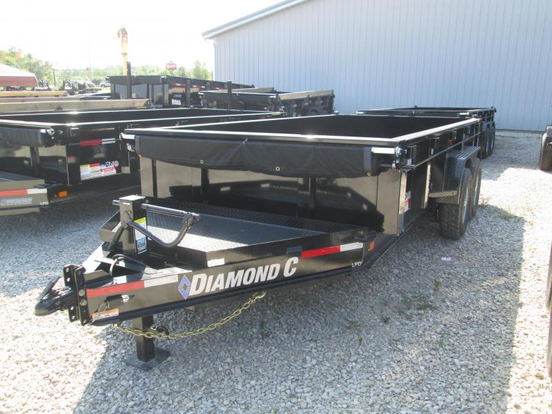 2019 14x82 14.9K Diamond C Dump Trailer. 17372