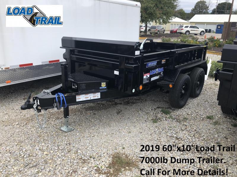 "2019 60""x10' 7K Load Trail Dump Trailer. 75052"
