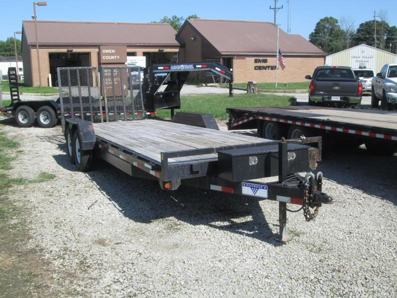 "2009 83""x22' Liberty Patriot Equipment Trailer"