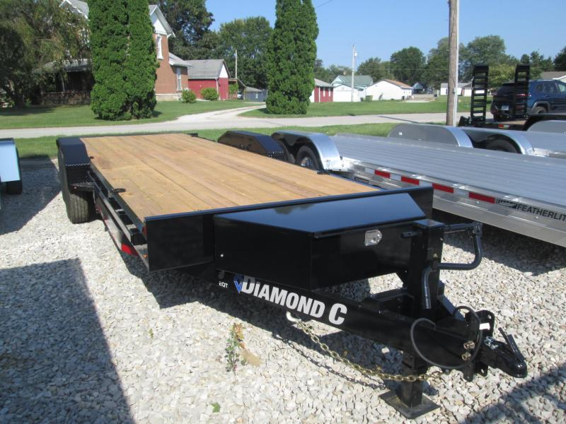 2019 22x82 14.9K Diamond C Equipment Trailer. 18705