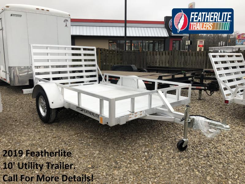 2019 10' Featherlite Utility Trailer. 150618