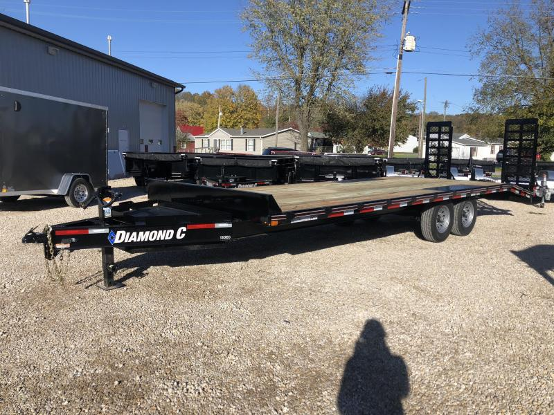 2019 20+4x102 14.9K Diamond C Equipment Trailer. 7053