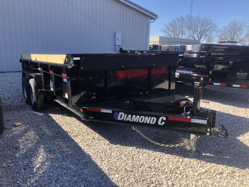 2019 14x82 14.9K Diamond C Dump Trailer. 10770