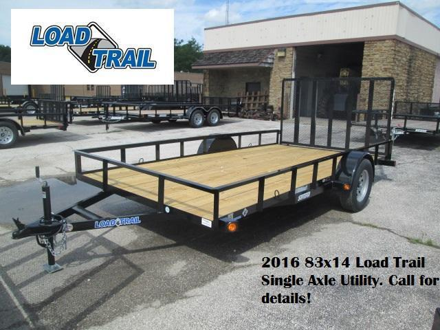 2016 83x14 Load Trail Single Axle Utility. 16778