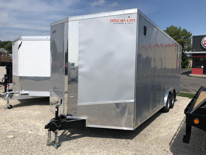 2019 8.5x20 7K Discovery Enclosed Trailer. 3125
