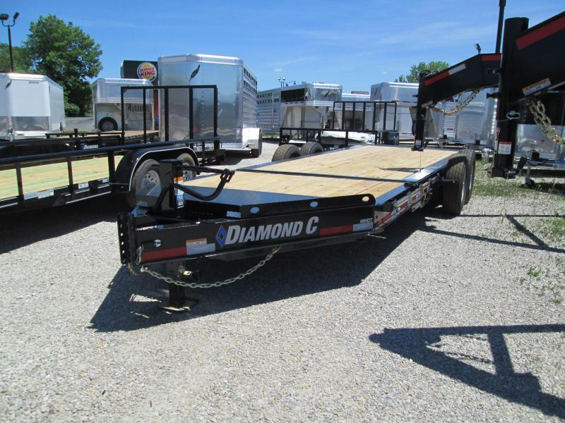 "2018 16'+4'x82"" 14.9k Diamond C Equipment Trailer. 00836"