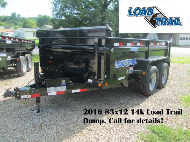 2016 83x12 14k Load Trail Dump. 16745