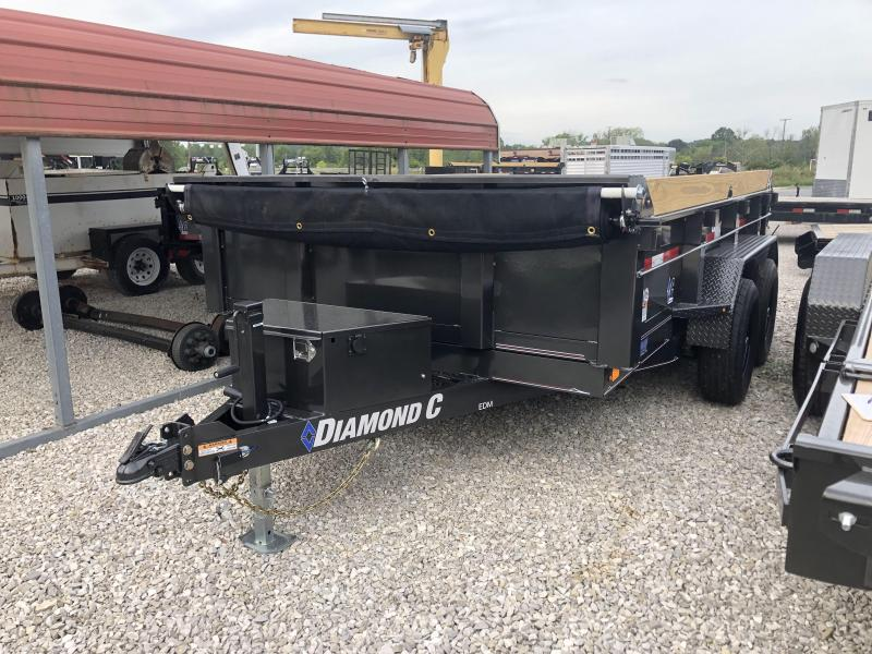 2019 Diamond C Trailers EDM252 Dump Trailer