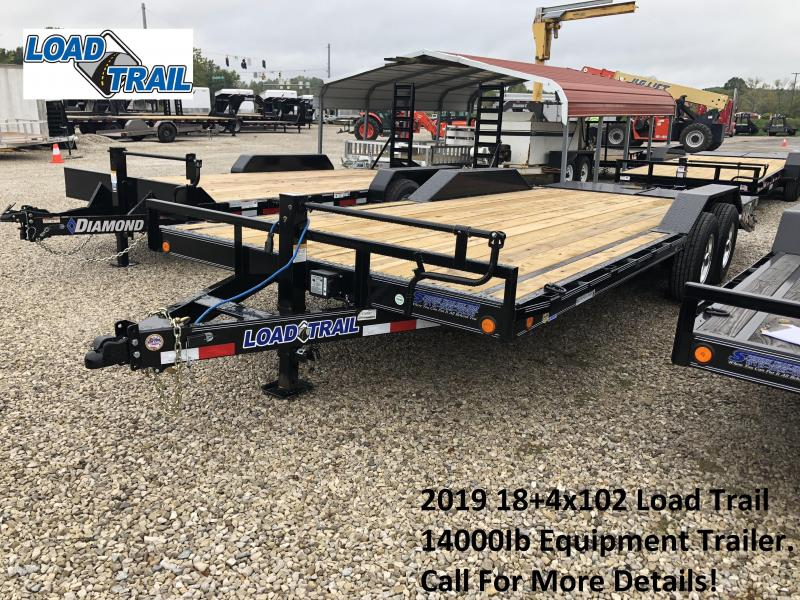 2019 18+4x102 14K Load Trail Equipment Trailer. 74767