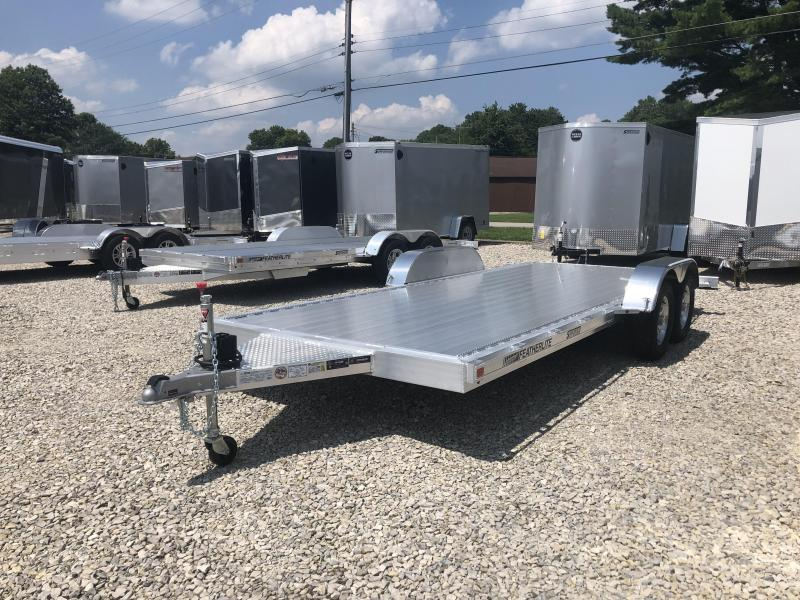 2019 18' 7K Featherlite Car Trailer. 152201
