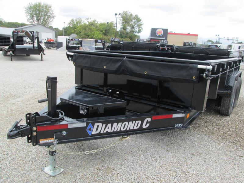 2019 14x82 14.9K Diamond C Dump Trailer. 6388