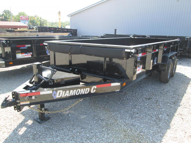 2020 16x82 14.9K Diamond C Dump Trailer. 18774