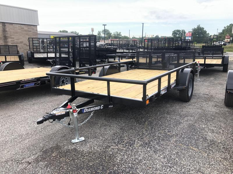 2019 Diamond C Trailers PSA135 Utility Trailer
