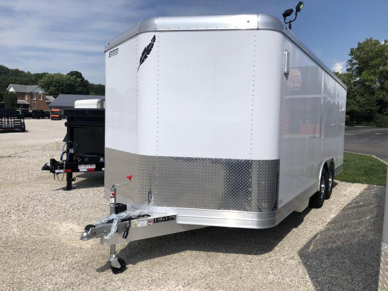 2019 8.5'x20' 10k Featherlite Enclosed Car Trailer. 149716