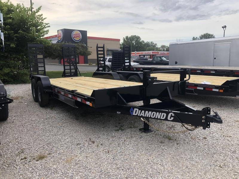2019 18+2 Diamond C Trailers EQT207 Equipment Trailer