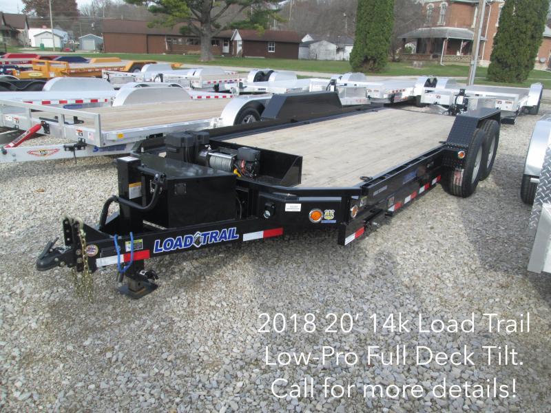2018 20' 14k Load Trail Low-Pro Full Tilt Deck. 50397