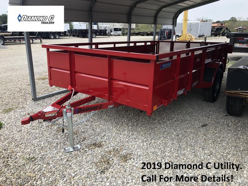 2019 Diamond C Utility Trailer. 4816