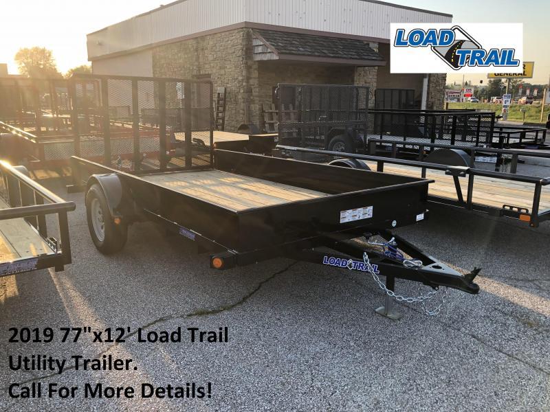"2019 77""x12' Load Trail Utility Trailer. 71113"