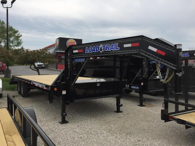 """2018 102""""x21+5 14k Load Trail Heavy Duty Gooseneck. 63902"""