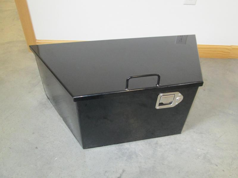Front Mount Tool Box