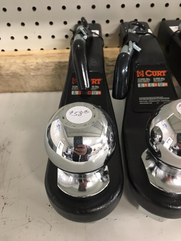 Heavy duty forged ball mount Class 4