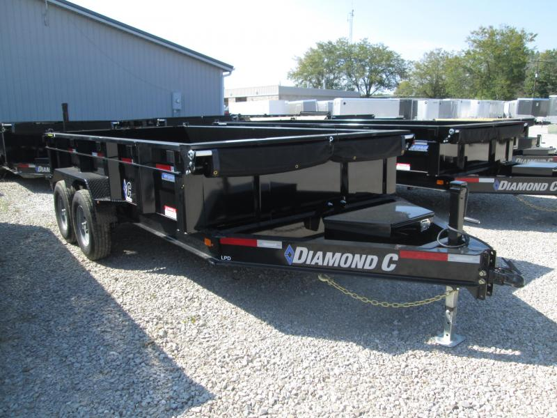 2019 14x82 14.9K Diamond C Dump Trailer. 17373
