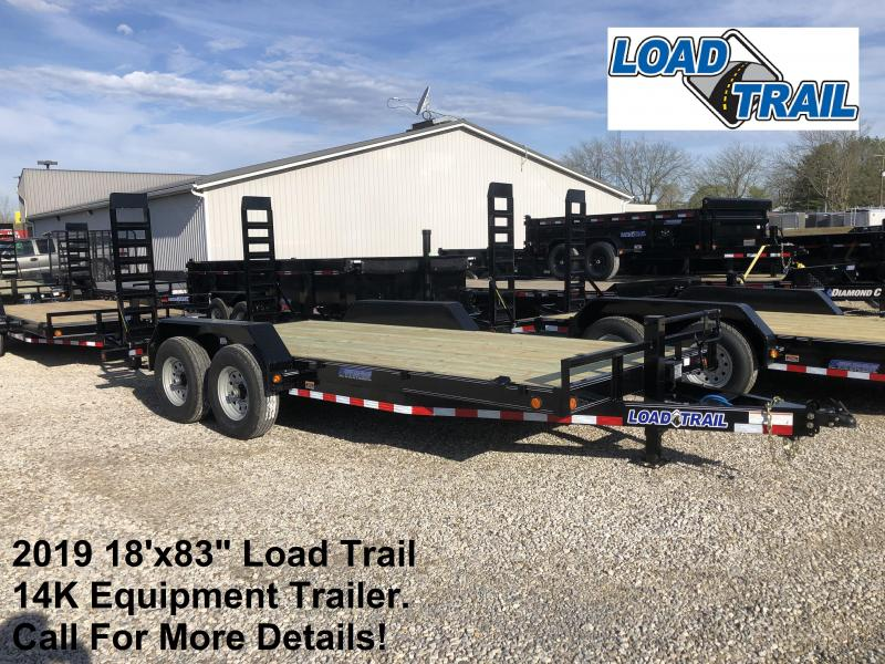 "2019 18'x83"" 14K Load Trail Equipment Trailer. 85593"