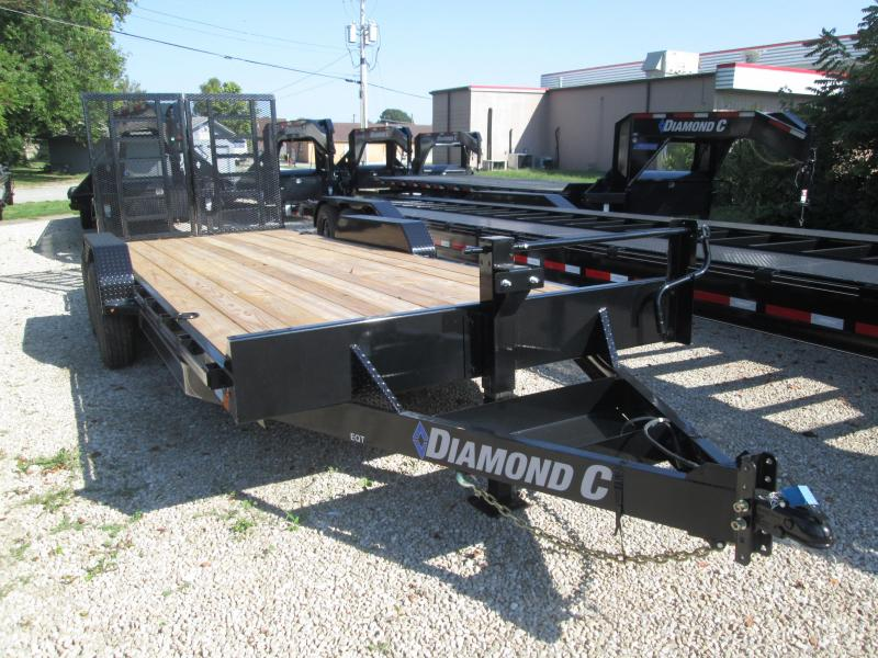 2019 20x82 14K Diamond C Equipment Trailer. 18054