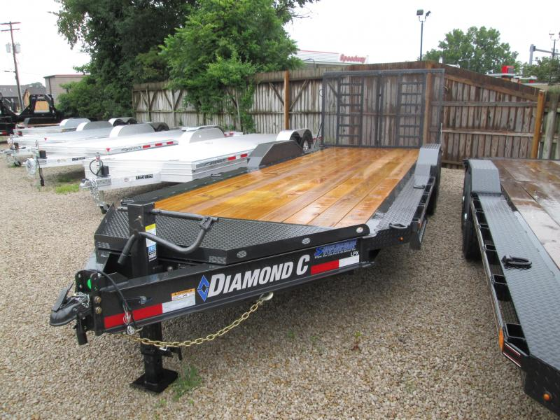 2019 20+2 Diamond C Trailers LPX207 Equipment Trailer