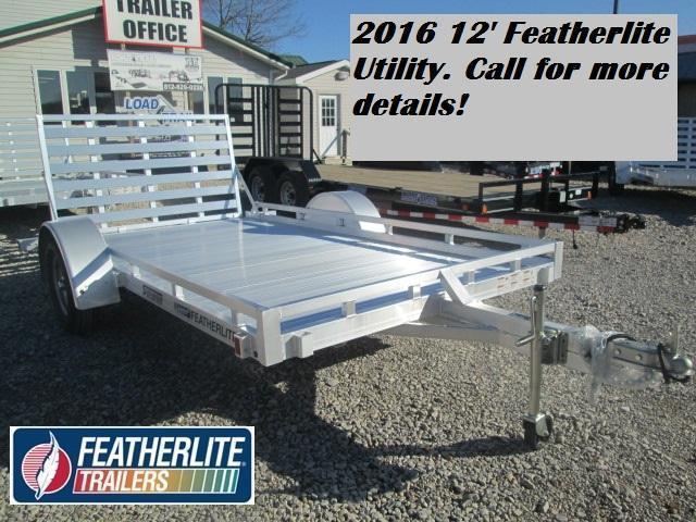 2016 1693 12' Featherlite Utility. 142075
