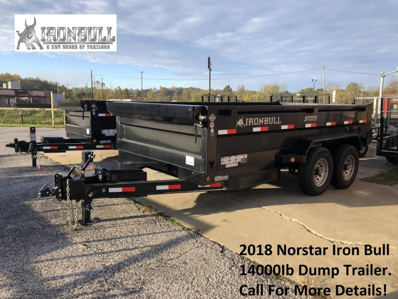 2018 Norstar Iron Bull Dump Trailer. 25422