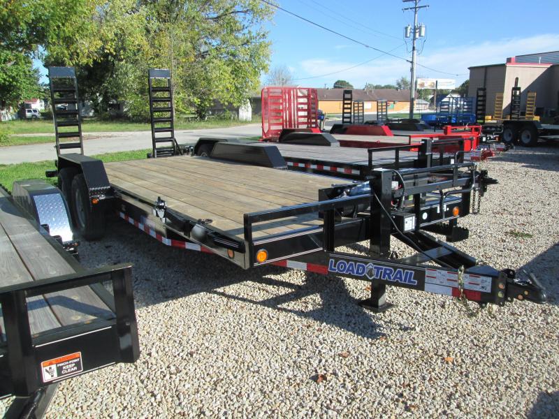 "2018 18'+2'x83"" 14K GVWR Load Trail Equipment Trailer. 48685"