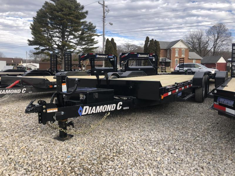 2019 22x82 14.9K Diamond C Tilt Equipment Trailer. 09049