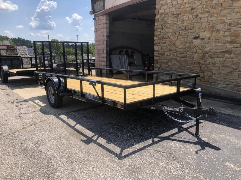 2019 14x77 Diamond C Utility Trailer. 17831