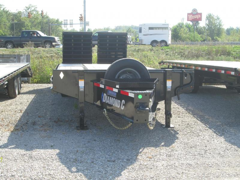 "2020 PX 210MR 25'x102"" 25K Diamond C Engineered Beam Equipment Trailer. 19006"