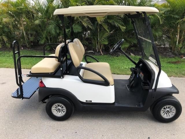2016 Club Car Precedent 4 Passenger